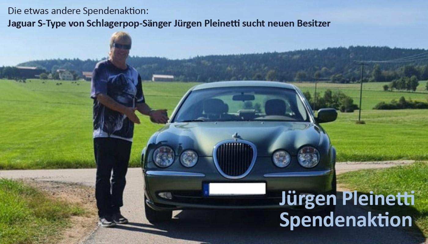 Spendenaktion - Jaguar S-Type sucht neuen Besitzer